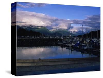 The Harbor of Valdez, Alaska-Stacy Gold-Stretched Canvas Print
