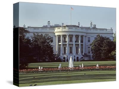 The White House, Washington, D.C.-Kenneth Garrett-Stretched Canvas Print