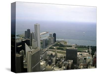 View from the Sears Tower in Chicago, Illinois-Stacy Gold-Stretched Canvas Print