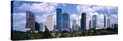 Skyscrapers in Houston, Texas, USA--Stretched Canvas Print
