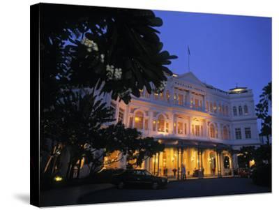Raffles Hotel, Singapore-Rex Butcher-Stretched Canvas Print