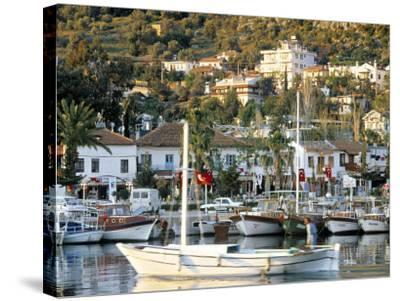 Kas, Southern Turkey-Peter Adams-Stretched Canvas Print