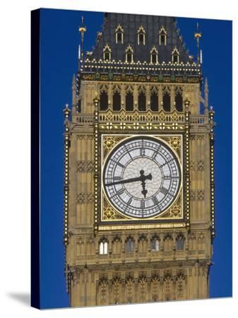 Big Ben, Houses of Parliament, London, England-Jon Arnold-Stretched Canvas Print