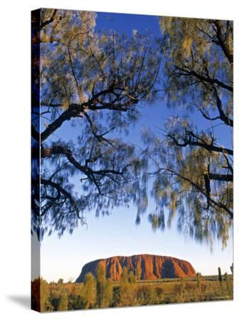 Ayers Rock, Northern Territory, Australia-Doug Pearson-Stretched Canvas Print
