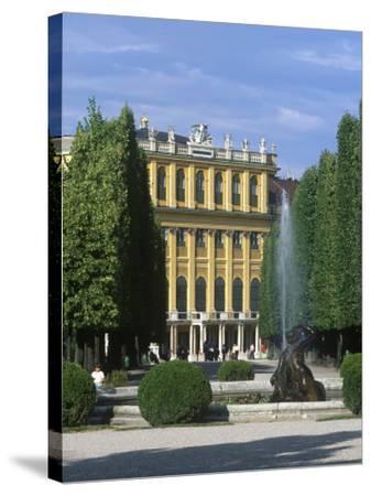 Schonbrunn Palace, Vienna, Austria-Jon Arnold-Stretched Canvas Print