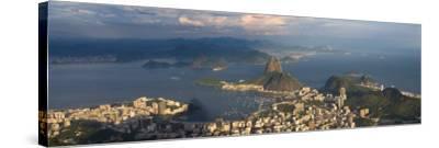 Sugar Loaf and Rio de Janeiro, Brazil-Michele Falzone-Stretched Canvas Print