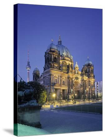 Berliner Dom, Berlin, Germany-Jon Arnold-Stretched Canvas Print