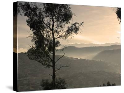 View over Quito, Ecuador-John Coletti-Stretched Canvas Print