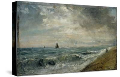 Hove Beach, East Sussex-John Constable-Stretched Canvas Print
