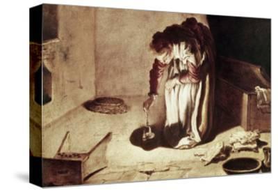 The Lost Coin-Domenico Fetti-Stretched Canvas Print