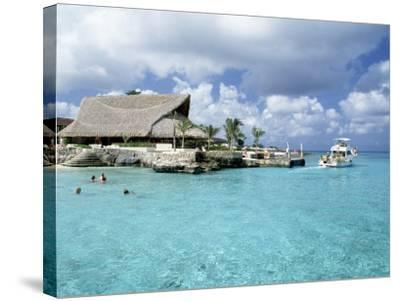 Stouffer Presidente and Beach, Cozumel, Mexico-Timothy O'Keefe-Stretched Canvas Print