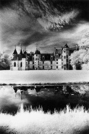 Meillant Chateau, Loire Valley, France-Simon Marsden-Stretched Canvas Print