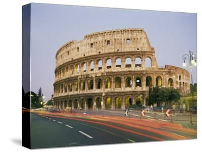 A View of the Colosseum-Richard Nowitz-Stretched Canvas Print