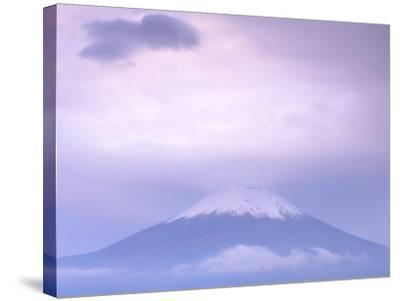 Mt. Fuji, Yamanaka Lake, Japan-Rob Tilley-Stretched Canvas Print