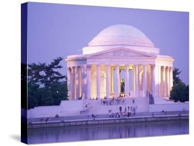 Jefferson Memorial, Washington, D.C., USA--Stretched Canvas Print