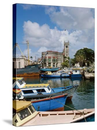 Brigetown, Barbados--Stretched Canvas Print