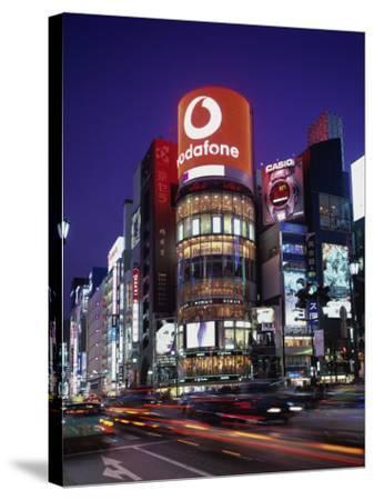 Ginza, Tokyo, Japan--Stretched Canvas Print