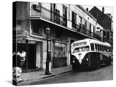 The Streetcar Named Desire is Now a Bus--Stretched Canvas Print
