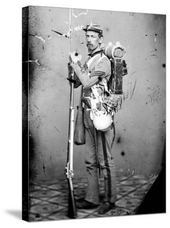 Sgt. Joseph Dore, 7th N.Y.S.M., c.1865--Stretched Canvas Print