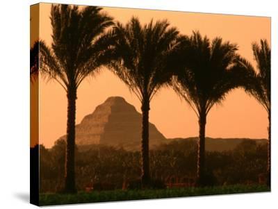 Step Pyramid, Djoser, Old Kingdom, Sakkarra, Egypt-Kenneth Garrett-Stretched Canvas Print
