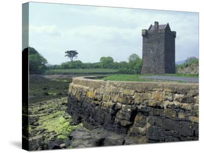 Grace O'Malley Castle, County Mayo, Ireland-William Sutton-Stretched Canvas Print