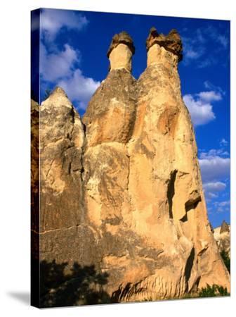 "Pasabagi ""Fairy Chimneys"" Mountains, Cappadocia, Turkey-Wayne Walton-Stretched Canvas Print"