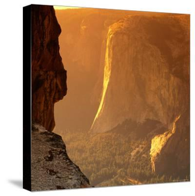 El Capitan at Sunset, Yosemite National Park, USA-Wes Walker-Stretched Canvas Print