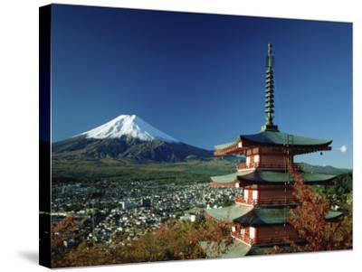 Mount Fuji Japan--Stretched Canvas Print