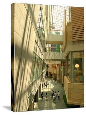 Shopping Centre in Roppongi Hills, Tokyo, Japan-Greg Elms-Stretched Canvas Print