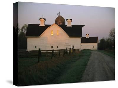 Historic Stevens Creek Farm Near Lincoln, Nebraska-Joel Sartore-Stretched Canvas Print