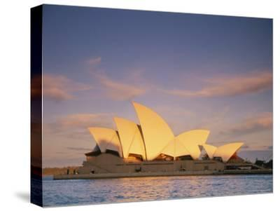 View of the Sydney Opera House-Richard Nowitz-Stretched Canvas Print