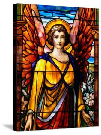 Stained Glass by George Spence, Jonesport, ME-Dan Gair-Stretched Canvas Print