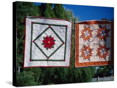 Amish Quilts, Lancaster, PA-Phyllis Picardi-Stretched Canvas Print