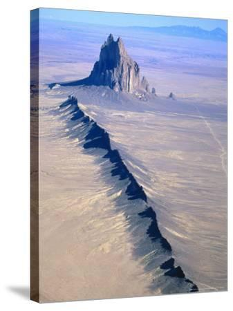Shiprock, Northwest New Mexico-Amy And Chuck Wiley/wales-Stretched Canvas Print