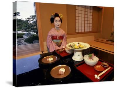 Maiko, Kyoto, Japan--Stretched Canvas Print
