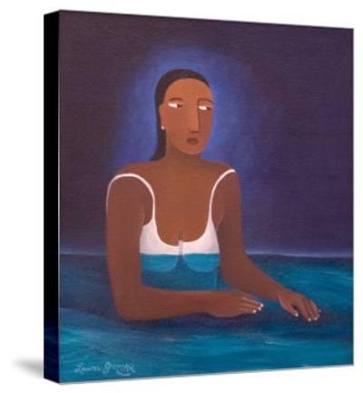 Woman in Water, 2004-Laura James-Stretched Canvas Print