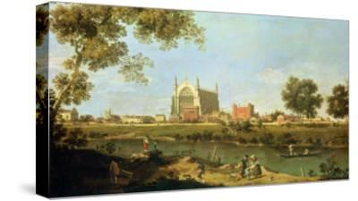 Eton College, c.1754-Canaletto-Stretched Canvas Print
