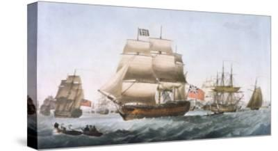 HMS Victory, 1806--Stretched Canvas Print