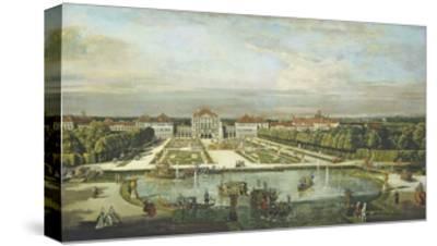 Schloss Nymphenburg, 1761-Bernardo Bellotto-Stretched Canvas Print