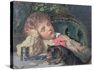 Opportune Moment-Sophie Anderson-Stretched Canvas Print