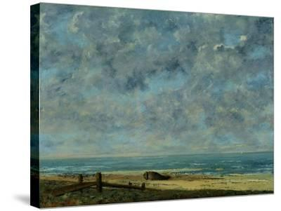 The Sea, c.1872-Gustave Courbet-Stretched Canvas Print