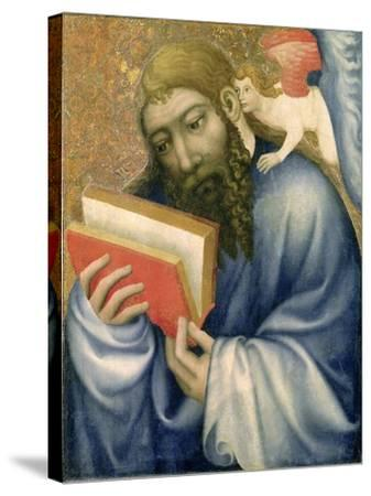 St. Matthew, from the Chapel of Karlstejn Castle, c.1365- Theodoricus of Prague-Stretched Canvas Print
