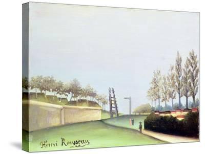 View from the Porte de Vanves, Paris, 1909-Henri Rousseau-Stretched Canvas Print