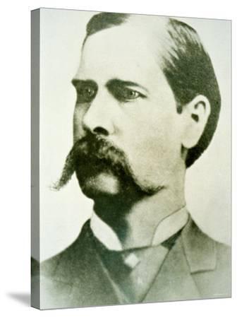 Wyatt Earp--Stretched Canvas Print