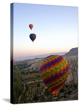 Balloon Ride over Cappadocia, Turkey-Joe Restuccia III-Stretched Canvas Print