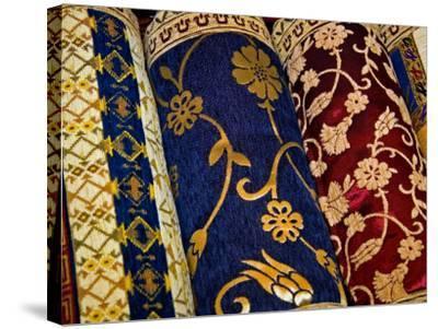 Goods at the Grand Bazaar, Istanbul, Turkey-Joe Restuccia III-Stretched Canvas Print