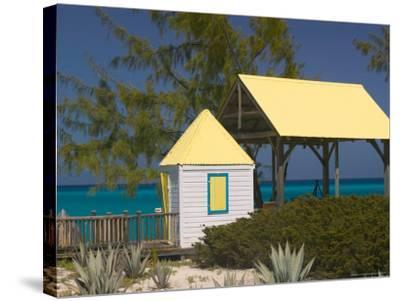 Windmills Plantation Beach House, Salt Cay Island, Turks and Caicos, Caribbean-Walter Bibikow-Stretched Canvas Print