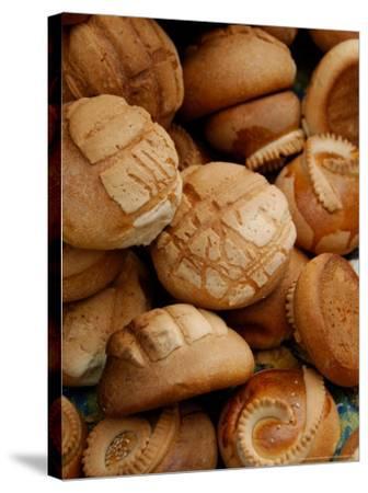 Fresh Bread Rolls, Lake Atitlan, Solola, Western Highlands, Guatemala-Cindy Miller Hopkins-Stretched Canvas Print