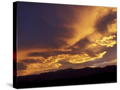 Clouds at Sunset from Artists Drive, Death Valley National Park, California, USA-Jamie & Judy Wild-Stretched Canvas Print