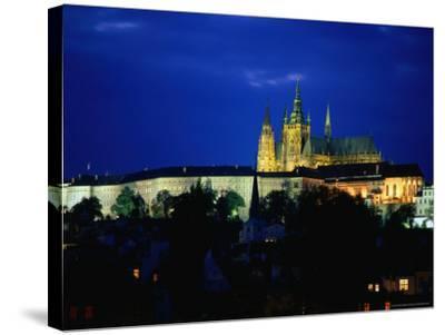 Historic Prague Castle or Hradcany Castle, Prague, Central Bohemia, Czech Republic-Jan Stromme-Stretched Canvas Print